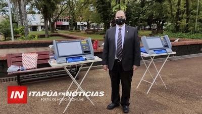 ASÍ FUNCIONA LA MÁQUINA DE VOTACIÓN ELECTRÓNICA.