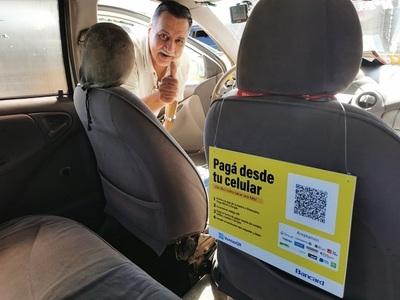 Taxis de Asunción aceptan pagos con tecnología QR