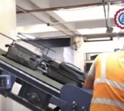 Sospechan que maleta fue contaminada en bodega de avión