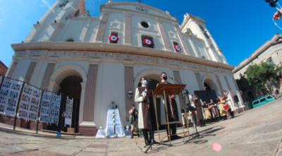Realizaron misa réquiem en conmemoración de los fallecidos por Covid en Paraguay