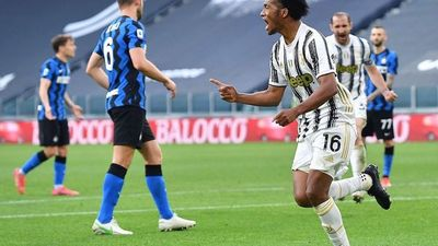Juventus festeja ante Inter