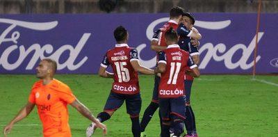 Un futbolista de Cerro en el once ideal de la semana en la Libertadores