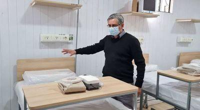 Internismo de ANR impide uso de camas contra covid