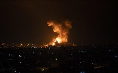 Israel bombardeó la residencia del máximo responsable del grupo terrorista Hamas