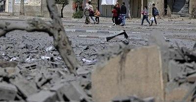 La Nación / Bombardeos israelíes matan a 40 palestinos en Gaza, antes de reunión de la ONU