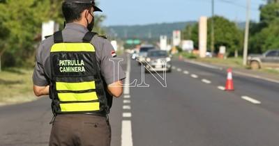 La Nación / Feriado largo: Caminera registra fallecidos, accidentes y vehículos demorados