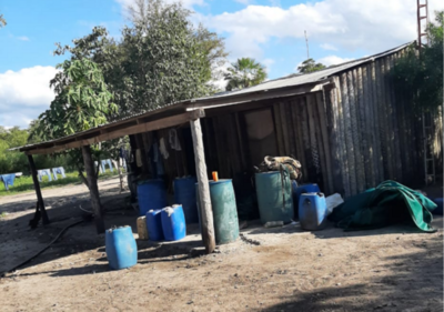 Tras testimonio de venezolano, hallan presunto campamento del EPP