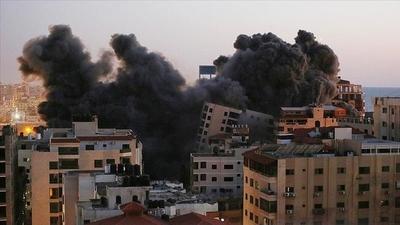 Ejército de Israel ataca la casa del jefe de Hamás en Gaza