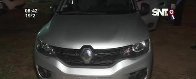 Recuperan vehículo tras tiroteo con delincuentes