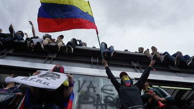 Indígenas y estudiantes se suman a la negociación con el Gobierno colombiano que comienza hoy