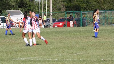 Goleada histórica en el fútbol femenino