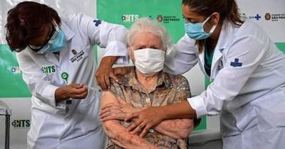 La Nación / Vacunación en Brasil avanza despacio en plena crisis sanitaria