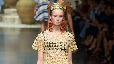 Locura por el croché, la nueva tendencia que lucen los famosos