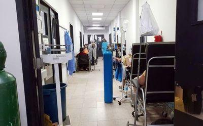 Santaní, saturado de pacientes respiratorios