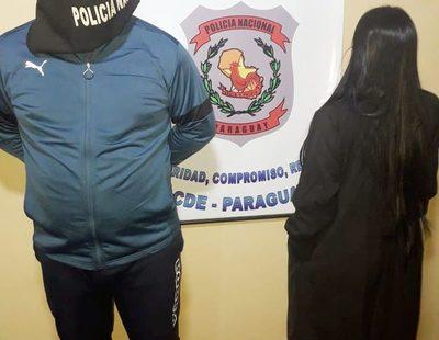 Cae detenida pareja en un cerco policial – Diario TNPRESS