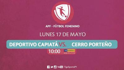 Capiatá y Cerro quieren unirse a la cima del fútbol femenino