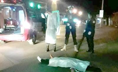 Conductor huye luego de arrollar y matar a una mujer