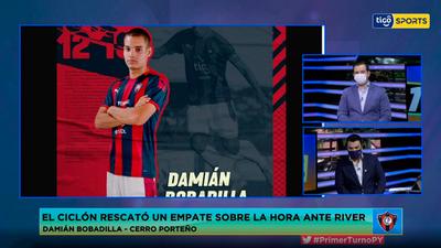 Damián Bobadilla en contacto con Primer Turno