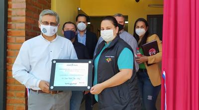 Guairá: Inauguran USF en el distrito de Ñumí