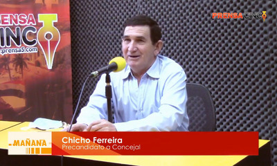 "Chicho Ferreira; ""Al momento de ayudar no pongo ningún tipo de condición"" – Prensa 5"