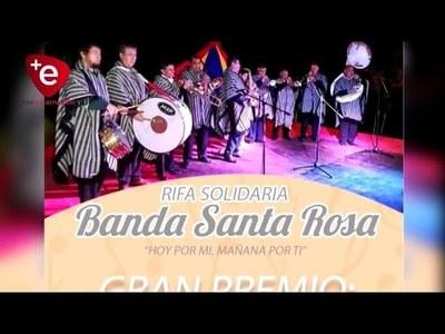 OFERTAN RIFA SOLIDARIA A BENEFICIO DE MIEMBROS DE LA BANDA SANTA ROSA CON COVID-19