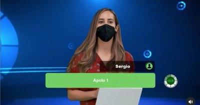 La Nación / Contactos: con ayuda de Clari Arias, Marta Díaz gana 1.200.000 Gs.