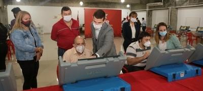 Internas simultáneas: Inicia auditoría de pantallas de voto en la ANR