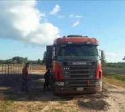 Caazapá: Roban cargamento de soja