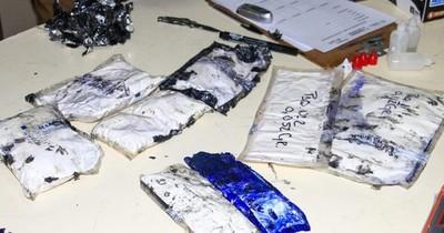La Nación / Senad detectó cuatro paquetes con drogas
