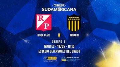 River se juega su continuidad en la Sudamericana
