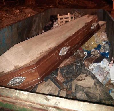 Encuentran ataúd con restos de piel y fluidos en Asunción – Prensa 5