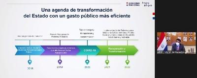 El Ejecutivo expuso su proyecto de Compras Públicas a Pacto Global Paraguay