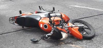 Imputan a conductor que había atropellado a motoclista en Ñemby