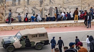 España envió de regreso a Marruecos a unos 2.700 migrantes