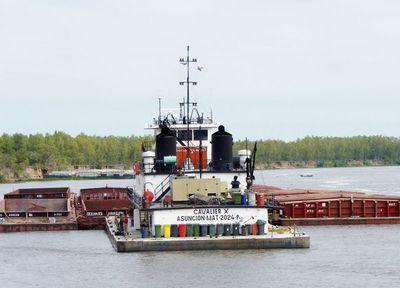 Crítica situación de navegabilidad de los ríos pone a prueba a sectores que transportan granos
