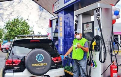 Petropar mantendrá precios de combustibles
