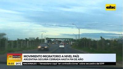 Argentina seguirá con fronteras cerradas hasta fin de año