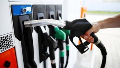 Combustibles suben desde hoy G. 400 por litro