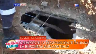 Caso Dahiana Espinoza: Nueva excavación en J. Augusto Saldívar