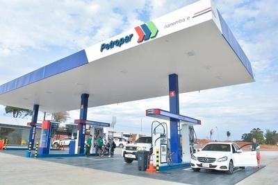 Petropar confirma que mantiene precio de combustibles