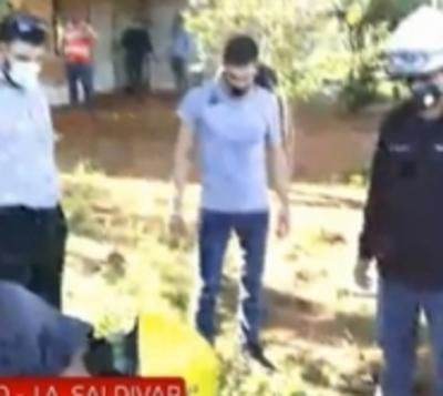 Caso Dahiana: A 8 meses de la desaparición, inician nueva excavación