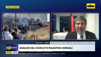 """Embajador de Palestina en Paraguay: """"Exigimos que respeten nuestra soberanía"""""""