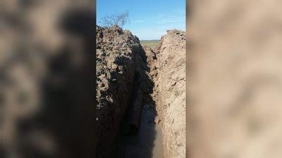 Obrero murió enterrado tras desmoronarse un pozo