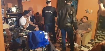 ¡Atrapados y sin salida! En allanamiento cae banda de asaltantes en San Lorenzo
