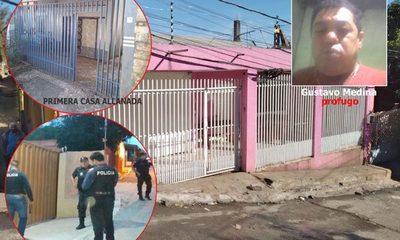 Allanan dos viviendas en busca de cobarde que mató a su hijastro al culparlo de su separación – Diario TNPRESS