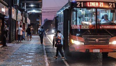 Reguladas, aglomeración y nulo control de protocolos en buses