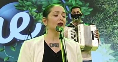 Andrea Valobra pide ayuda para su madre