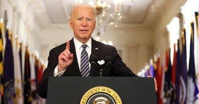"""La Nación / Biden dice a Netanyahu que espera una """"desescalada hoy"""" en camino a un """"cese al fuego"""""""