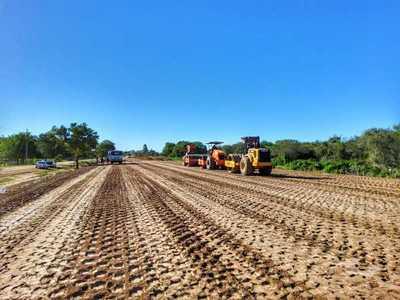 El Lote 1 de la ruta Alberdi-Pilar ayudará a romper el aislamiento de Ñeembucú