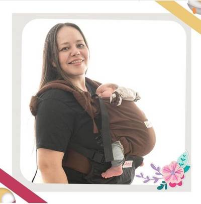 Madre y emprendedora paraguaya ideó portabebés ergonómicos adecuados para el Kunu'û